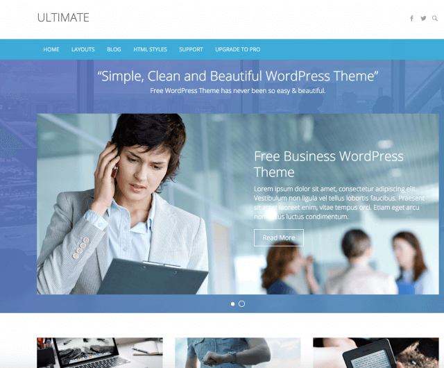 WordPressテーマ:Ultimate