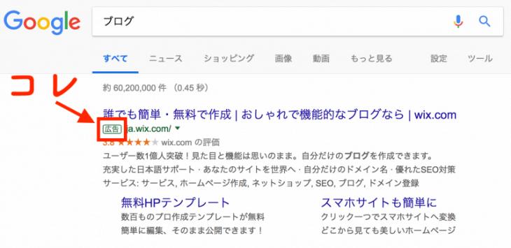 Google AdWordsアカウント作成:リスティング広告ってこういうことを言います