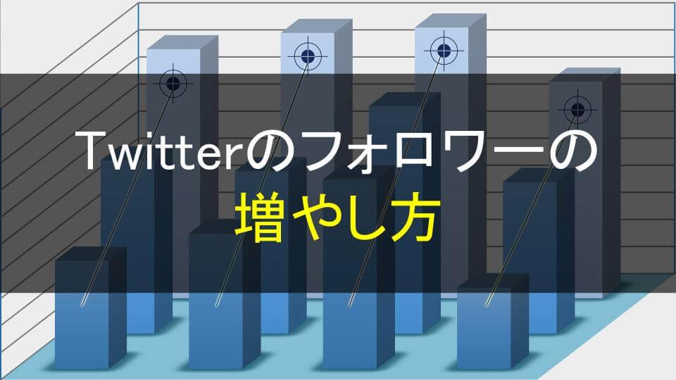 Twitterのフォロワーの増やし方