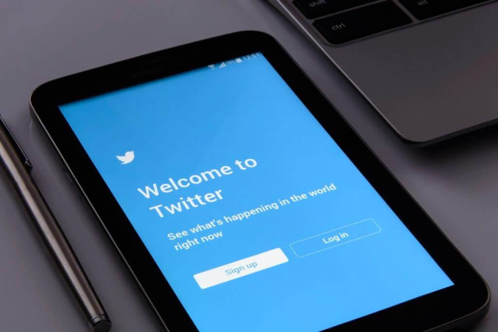 Twitterアカウント新規作成