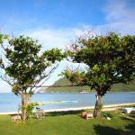 海で泳ぎを披露してくれた渡名喜島の子どもたち