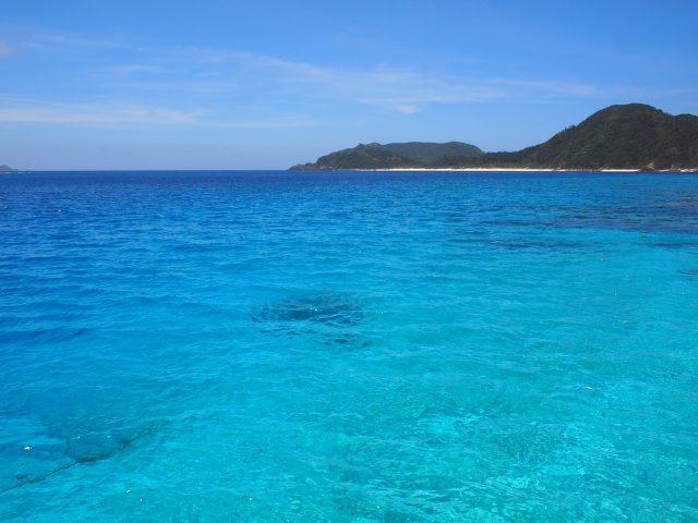 ケラマブルーの海