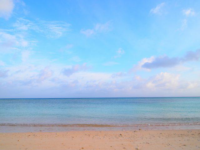 朝のニシ浜