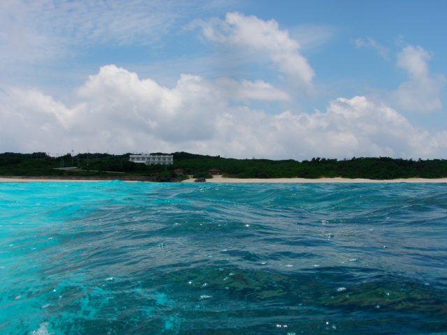 ビーチから100~200mのところ