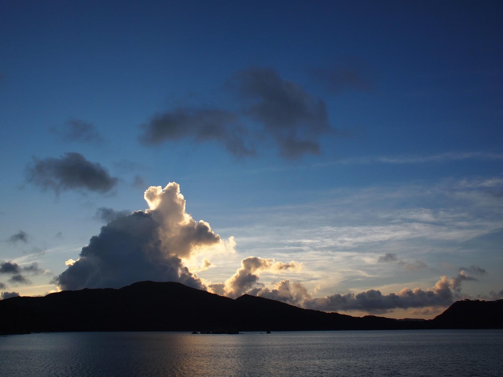 島旅での朝が好き