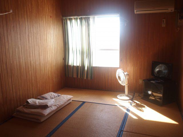 民宿のお部屋