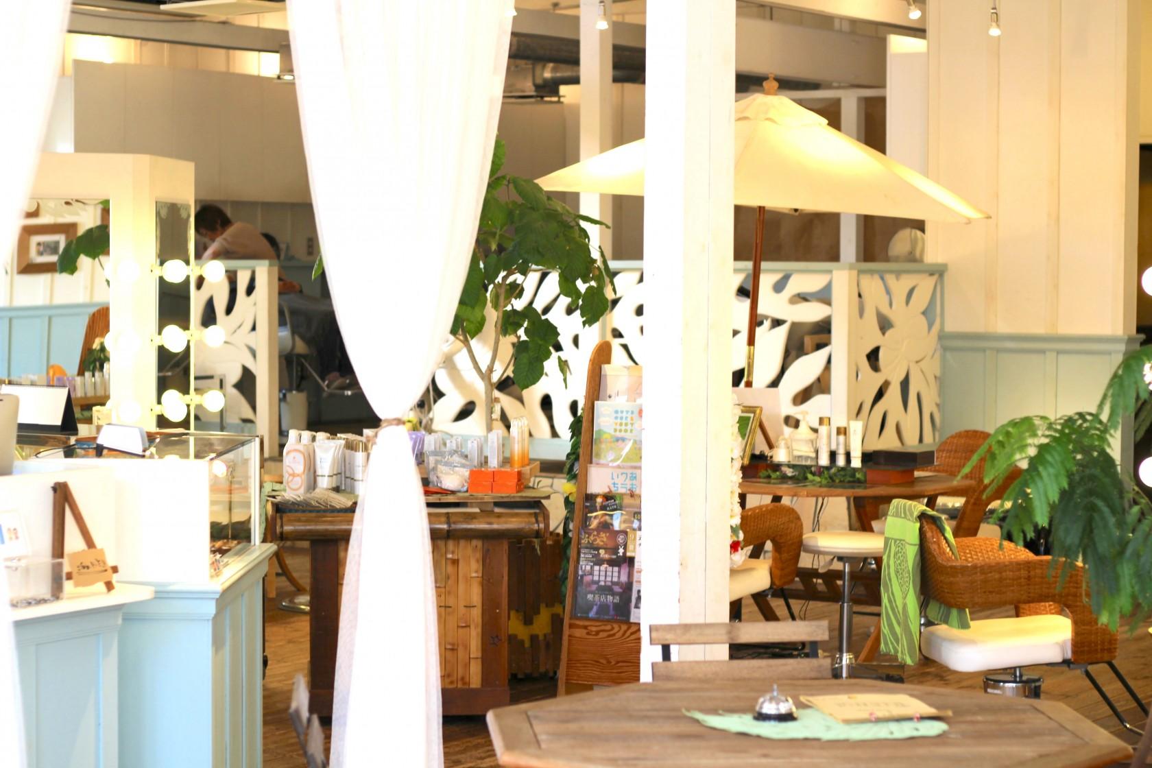 MAHALOCO 水戸:ハワイのような空間の室内
