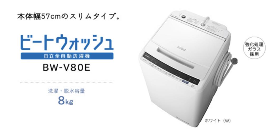 日立全自動洗濯機 ビートウォッシュ